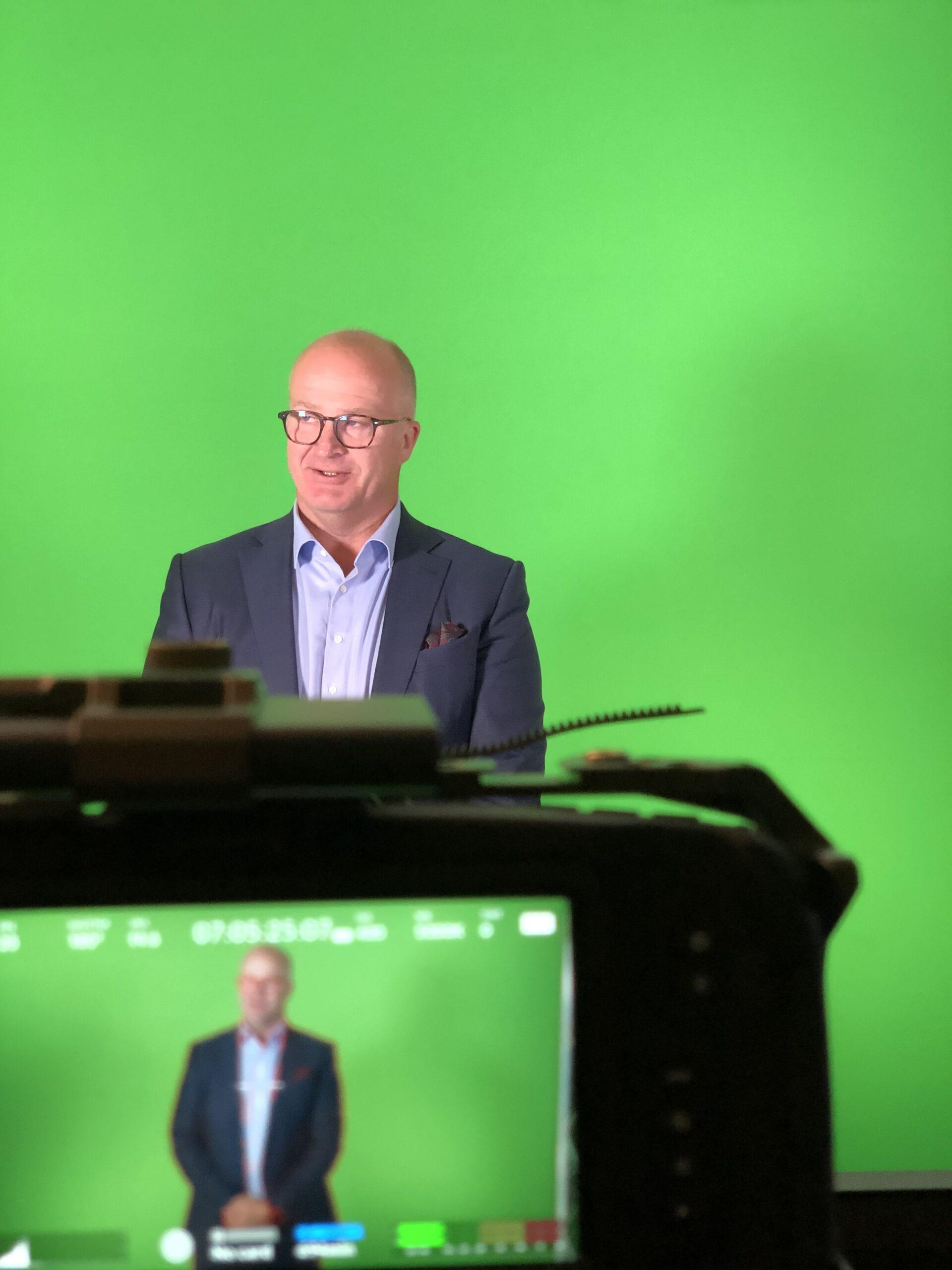 Green screen studio eKurs Norge